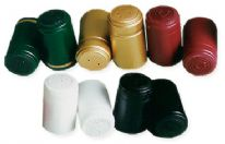 Shrink Capsules Burgundy/Gold (Pack of 30)
